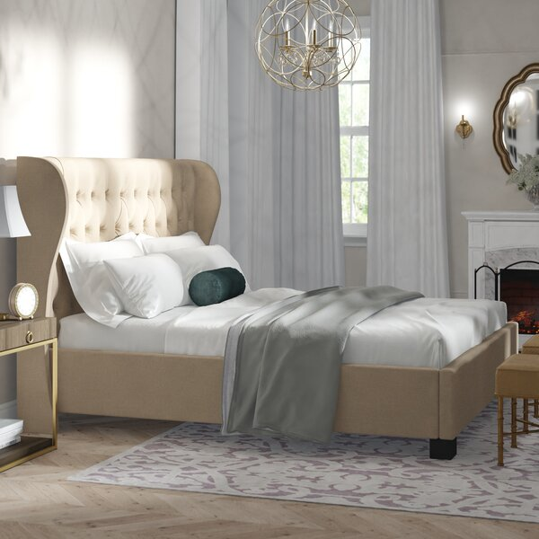 Merriam Upholstered Platform Bed by Birch Lane™ Heritage