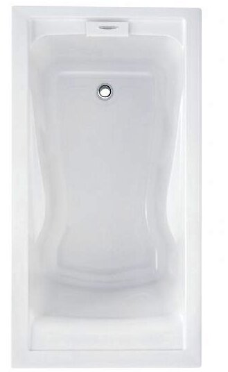 "Evolution Left Hand Drain 60"" x 32"" Drop-In Soaking Bathtub by American Standard"