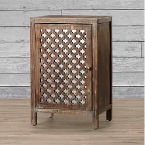 Heidi End Table With Storage by Bungalow Rose