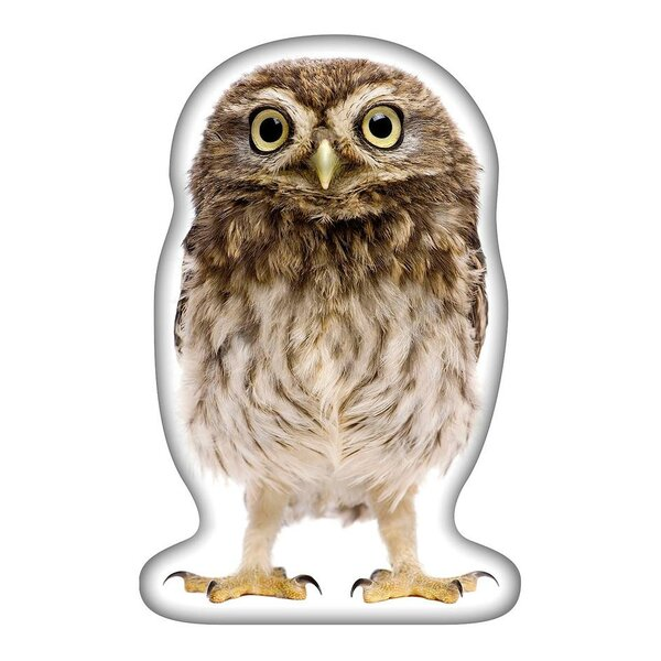 Owl Throw Pillow by East Urban Home