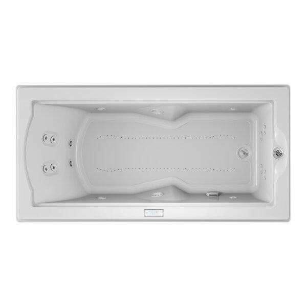 Fuzion Chroma Whisper Right-Hand 72 x 36 Drop-In Salon Bathtub by Jacuzzi®
