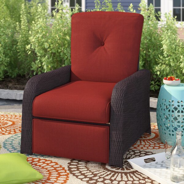 Ashton Luxury Recliner Patio Chair With Cushions By Sol 72 Outdoor