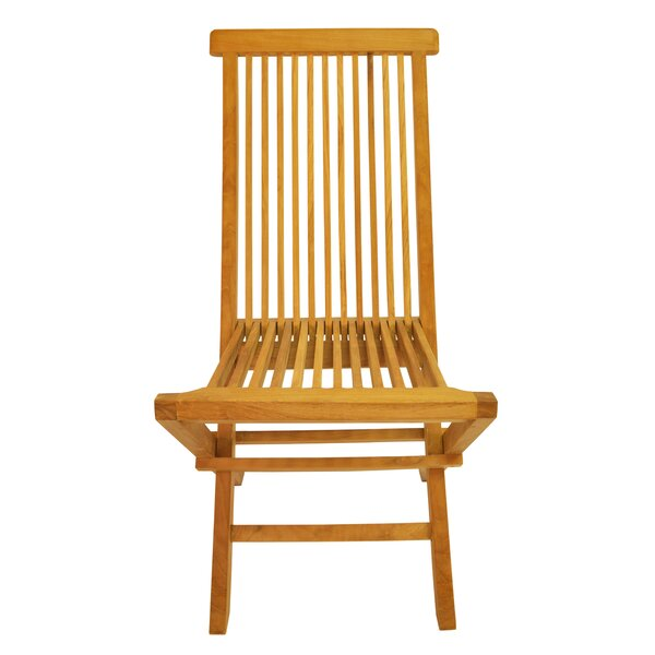 Classic Folding Teak Patio Dining Chair by Anderson Teak