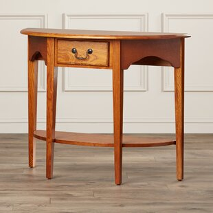 Affordable Apple Valley Demilune Console Table ByCharlton Home