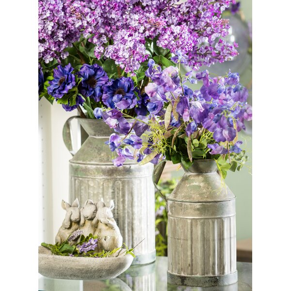 Lobato Water Can Metal 2 Piece Pot Planter Set by Gracie Oaks