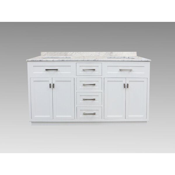 Montverde 60 Double Bathroom Vanity Set by Rosecliff Heights