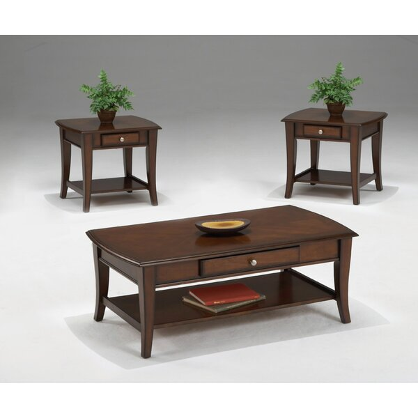 Broadway 3 Piece Coffee Table Set by Bernards
