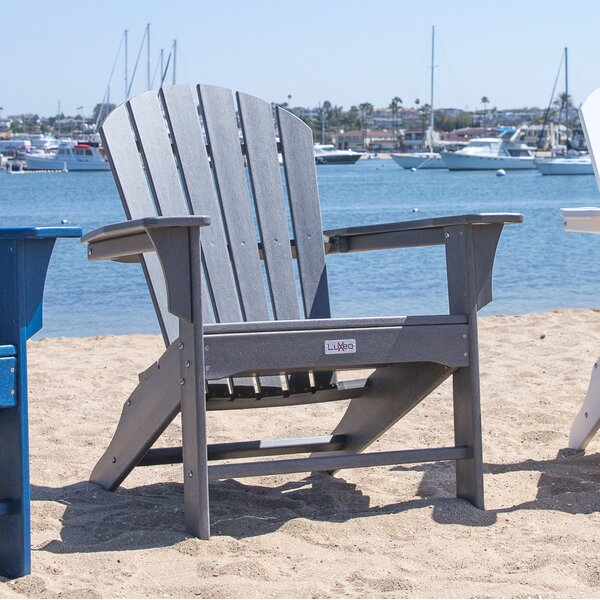 Corinne Poly Plastic Adirondack Chair by Longshore