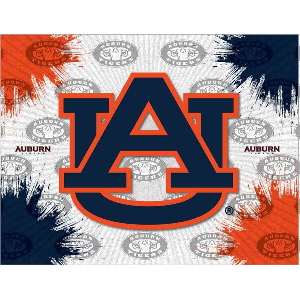 NCAA Graphic Art on Canvas by Holland Bar Stool