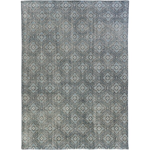 Cypress Hand-Knotted Wool in Blue by Birch Lane™