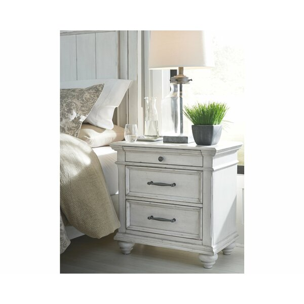Conard 3 Drawer Nightstand By Ophelia & Co. by Ophelia & Co. 2020 Sale