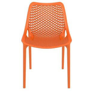 Charmant Orange Outdoor Dining Chairs