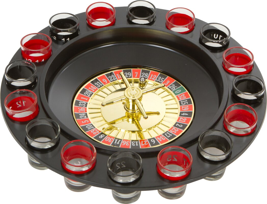 Roulette Spinning Shot Drinking Game