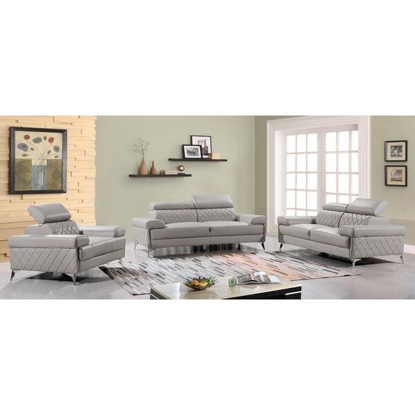 Waynesville 3 Piece Living Room Set by Orren Ellis