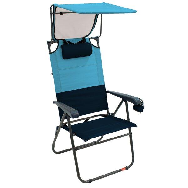 Colrain Aluminum Canopy Reclining Beach Chair by Freeport Park Freeport Park