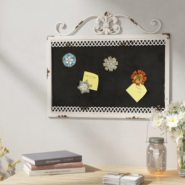 Simply Ingenious Metal Magnetic Board by August Grove