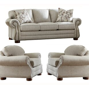 Shurtz 3 Piece Living Room Set by Canora Grey