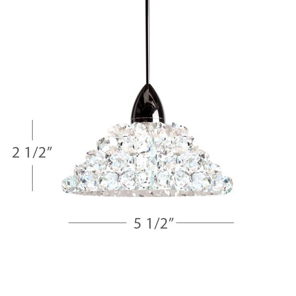 Giselle 1-Light Cone Pendant by WAC Lighting