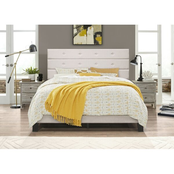 Eddahbi Fremont Upholstered Platform Bed by Ebern Designs