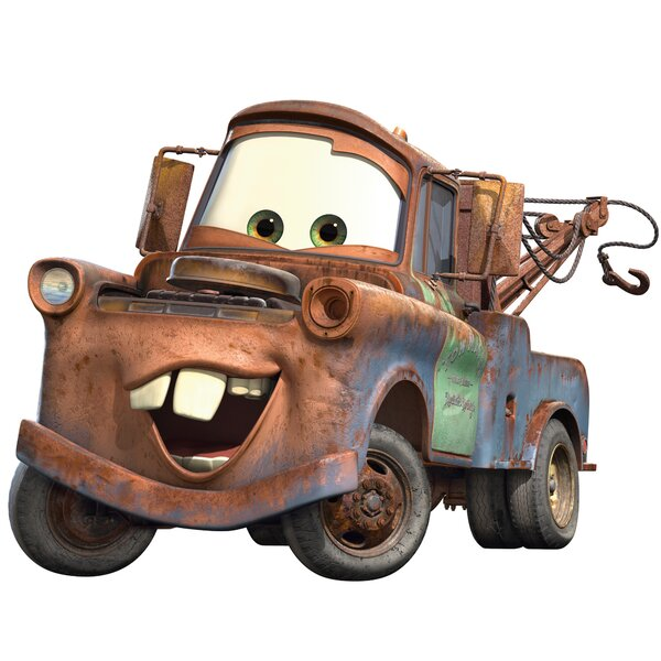 Disney Cars 2 Mater Cutout Wall Decal by Wallhogs