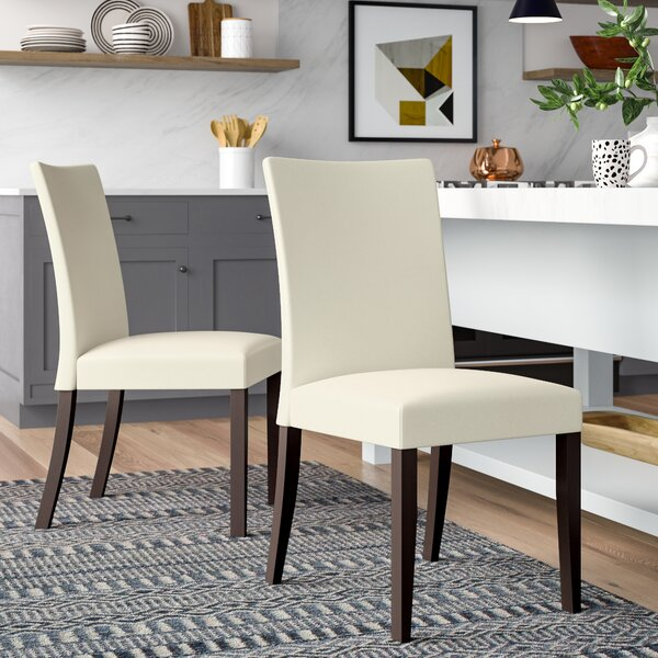 Parsons Upholstered Dining Chair (Set of 2) by Latitude Run