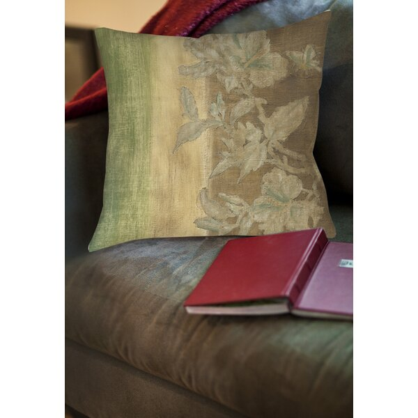 Analisa Floral Printed Throw Pillow by Red Barrel Studio
