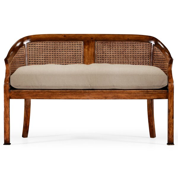 Walnut 2 Seater Settee by Jonathan Charles Fine Furniture