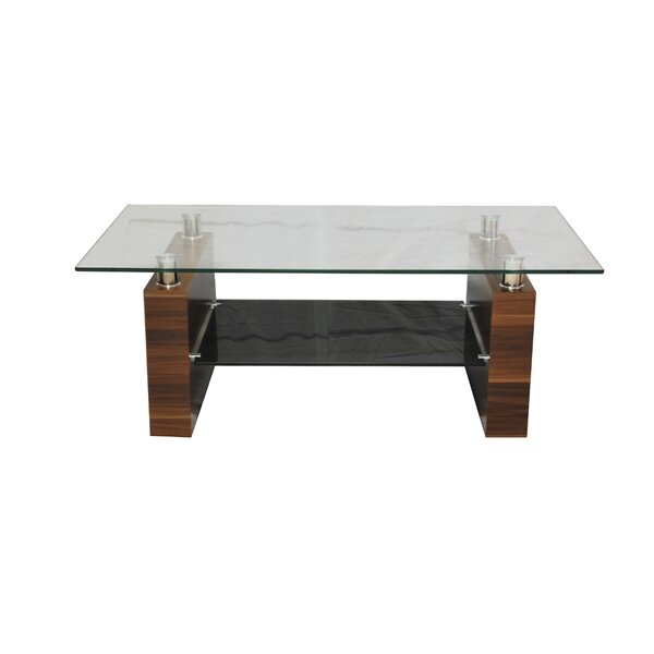 Tier One Designs Coffee Table With MDF Base U0026 Reviews | Wayfair