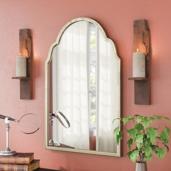 Moseley Metal Wall Mirror by Three Posts