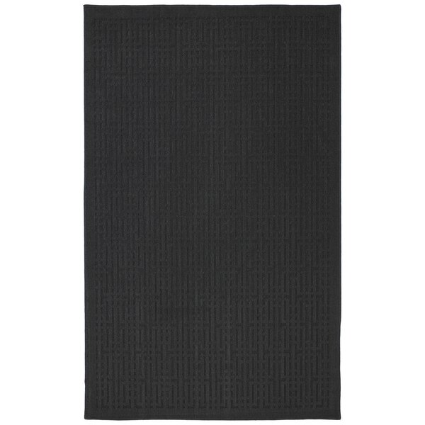 Cherwell Black Area Rug by Red Barrel Studio