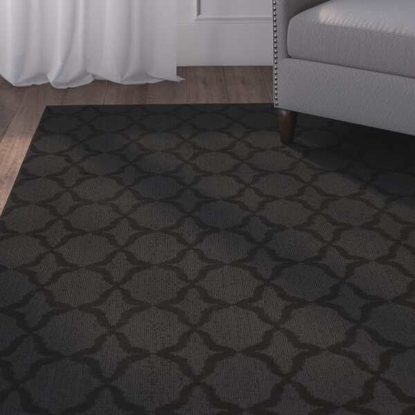 Southington Black Area Rug by Charlton Home