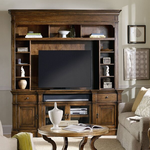 Archivist Entertainment Center For TVs Up To 70