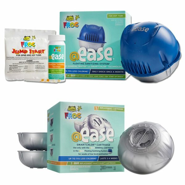 @ease Floating Sanitizing System 4 Month Kit by Carefree Stuff