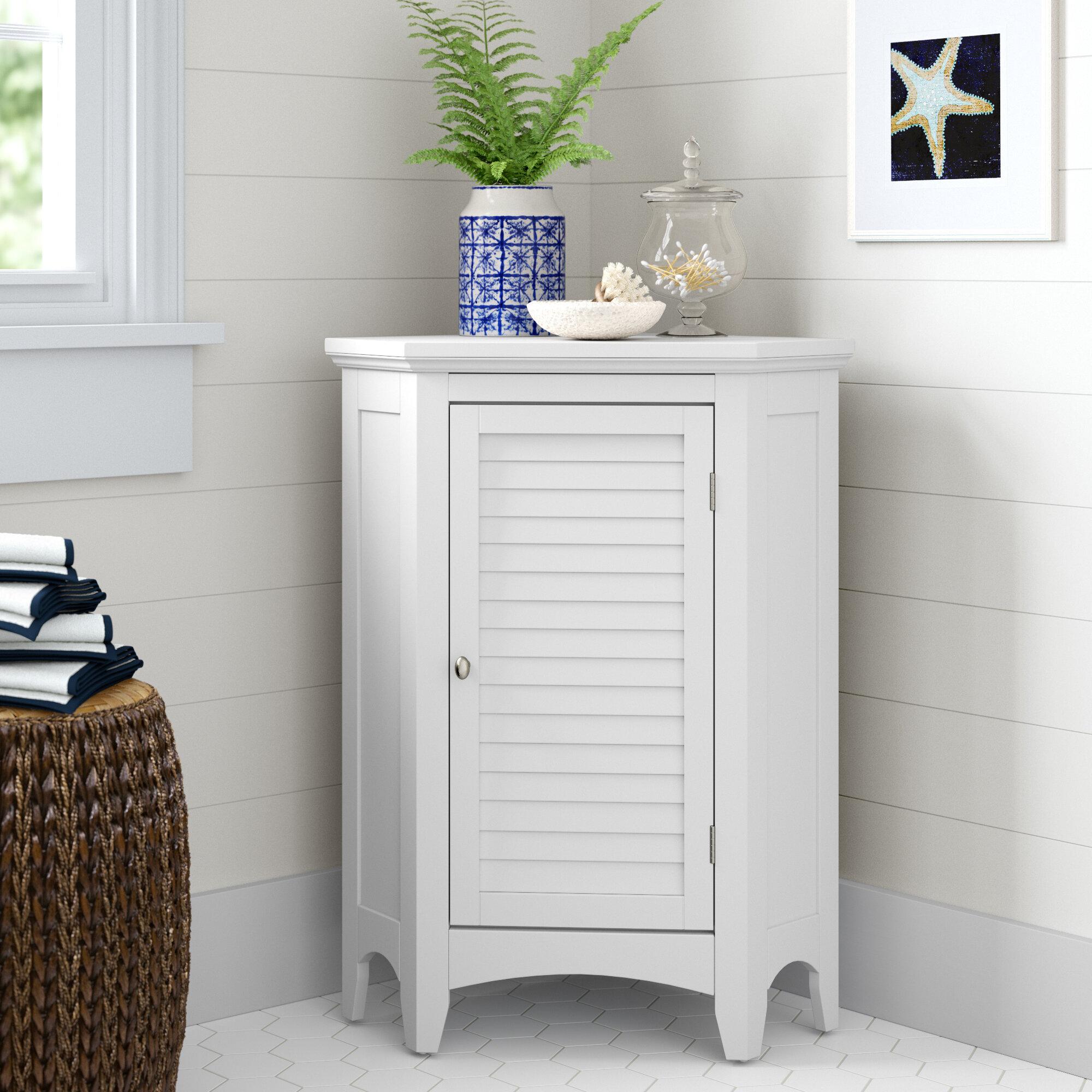Bathroom Corner Cabinet Wayfair