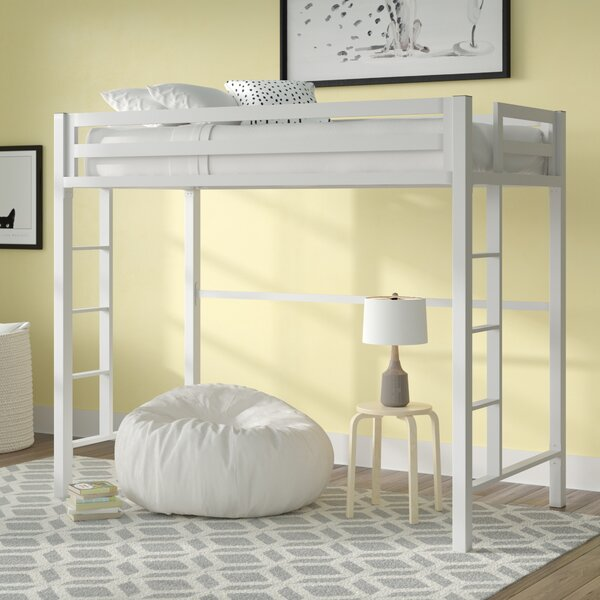 Giusti Twin Loft Bed By Mack & Milo by Mack & Milo 2020 Sale