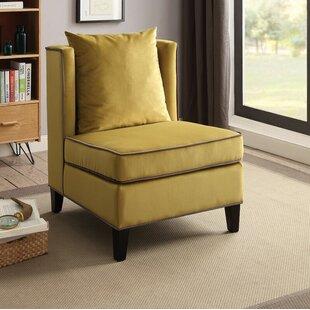 Ricci Slipper Chair by Latitude Run