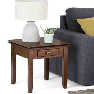 Price Check Artisan End Table with Storage By Simpli Home