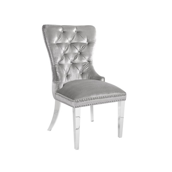 Modern Alpena Dining Chair By Everly Quinn Best