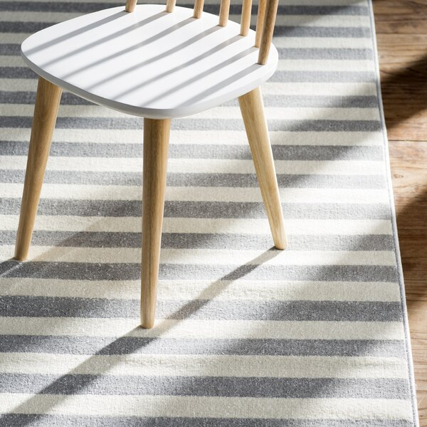 Eridani Ivory/Gray Area Rug by Surya