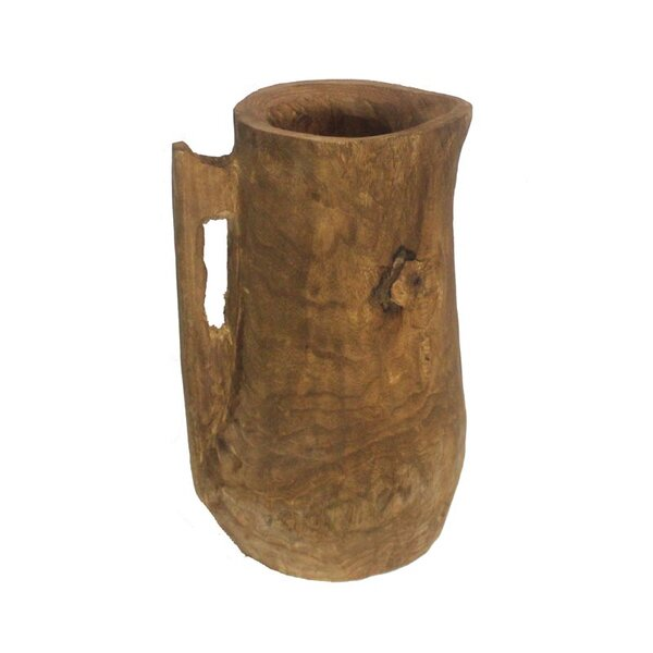 Diallo Wood Pot Planter by Bloomsbury Market