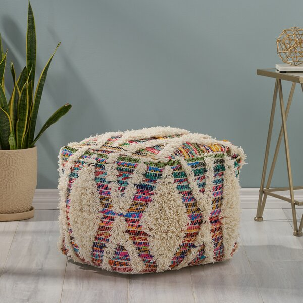 Cowen Tufted Pouf By Bungalow Rose
