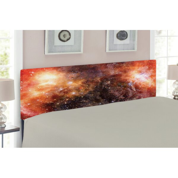 Outer Space Upholstered Panel Headboard by East Urban Home