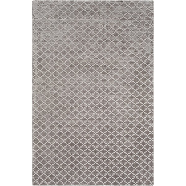 Tudor Hand Woven Medium Gray Area Rug by Union Rustic