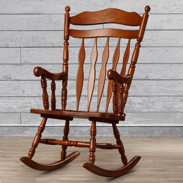Greenwood Rocking Chair By Loon Peak