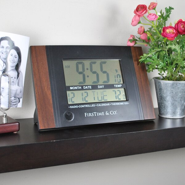 Executive Digital Tabletop Clock by FirsTime