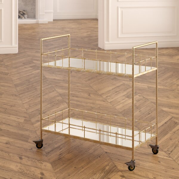 Rebeccah Bar Cart by Everly Quinn