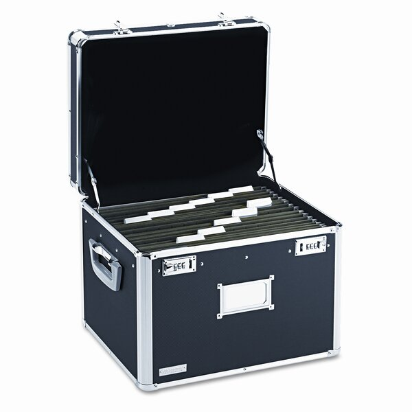 Vaultz Locking File Chest Storage Box by Ideastream Products