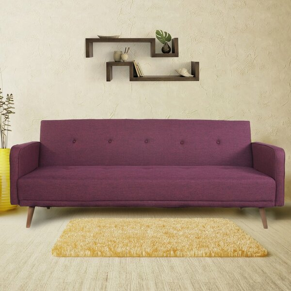 Aldana 3 Seat Fabric Convertible Sofa by Corrigan Studio