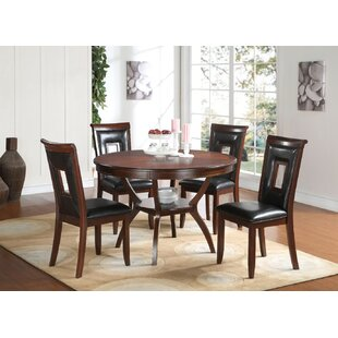 Cuellar Wooden 5 Piece Counter Height Dining Set By Fleur De Lis Living
