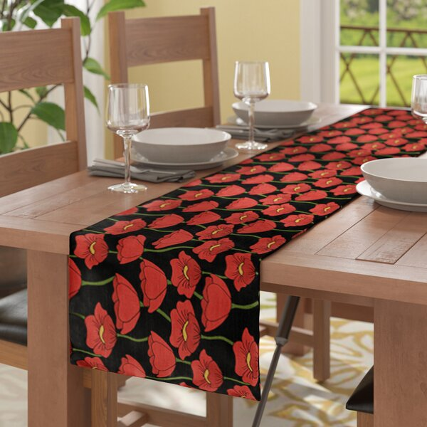 Daponte Table Runner by Red Barrel Studio